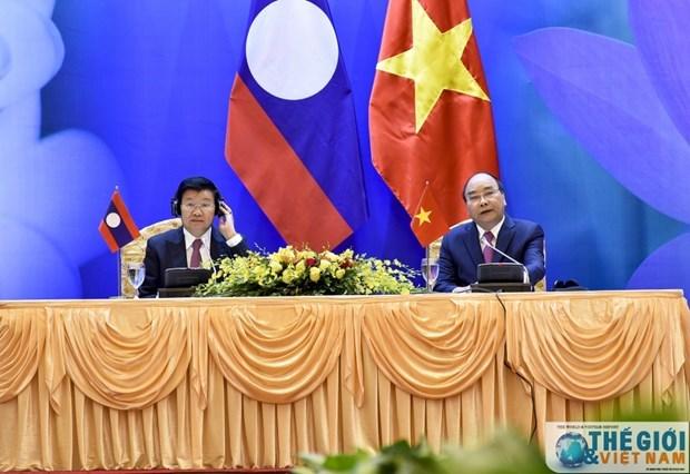 Organizaran reunion del Comite de Cooperacion Intergubernamental Laos-Vietnam hinh anh 1
