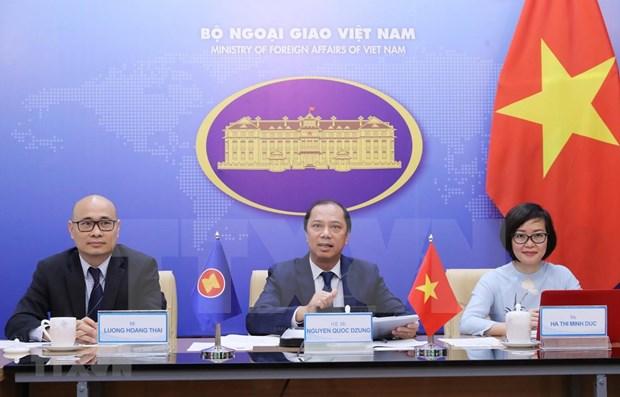 La cooperacion de ASEAN en 2020 sienta bases para proxima etapa, evalua diplomatico vietnamita hinh anh 1