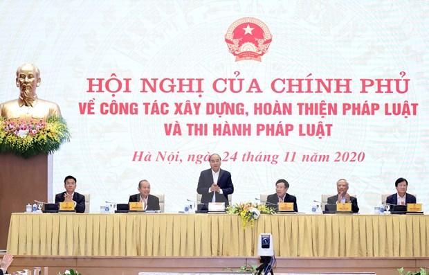 Primer ministro de Vietnam insta perfeccionar proceso de elaboracion de leyes hinh anh 1