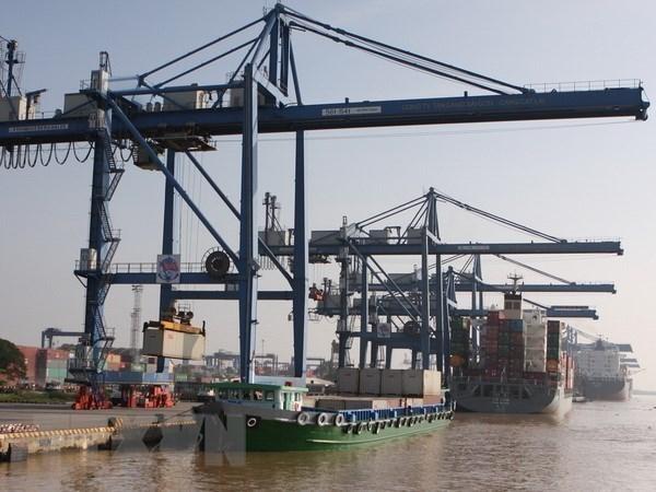 Aumenta volumen de transporte de carga por puertos vietnamitas hinh anh 1