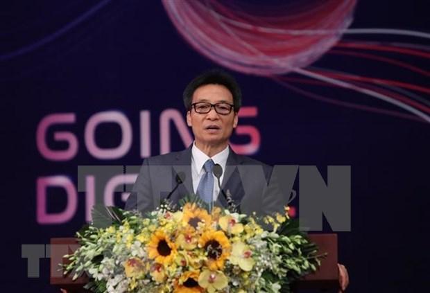 Celebran en Hanoi Cumbre de empresas de Vietnam hinh anh 1