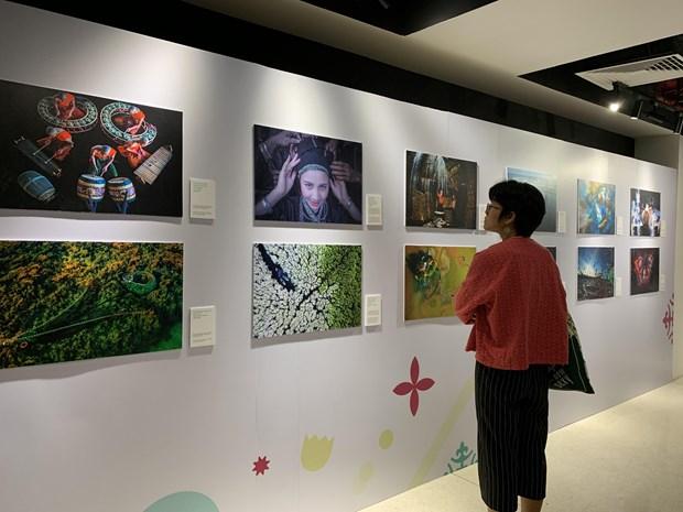 Concurso fotografico expresa los colores vividos de la cultura vietnamita hinh anh 1