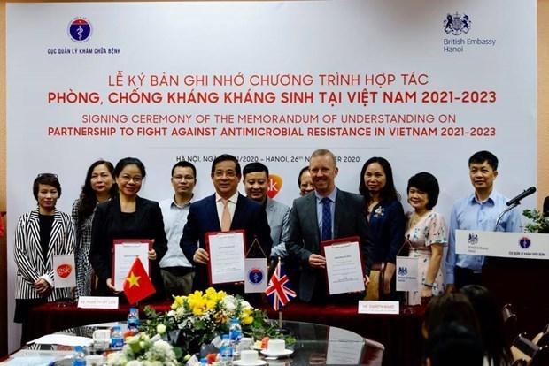 Reino Unido ayuda a Vietnam en lucha contra la farmacorresistencia hinh anh 1