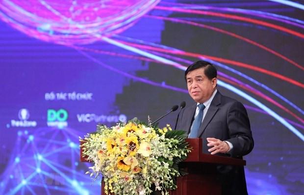 Mas de 30 fondos se comprometen a invertir en sector del emprendimiento innovador y creativo en Vietnam hinh anh 1