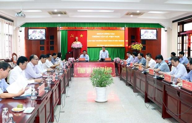 VNA y provincias survietnamitas agilizan cooperacion en sector informativo hinh anh 1
