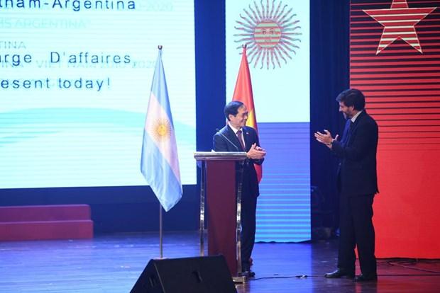 Cita cultural destaca estrechas relaciones entre Vietnam y Argentina hinh anh 2
