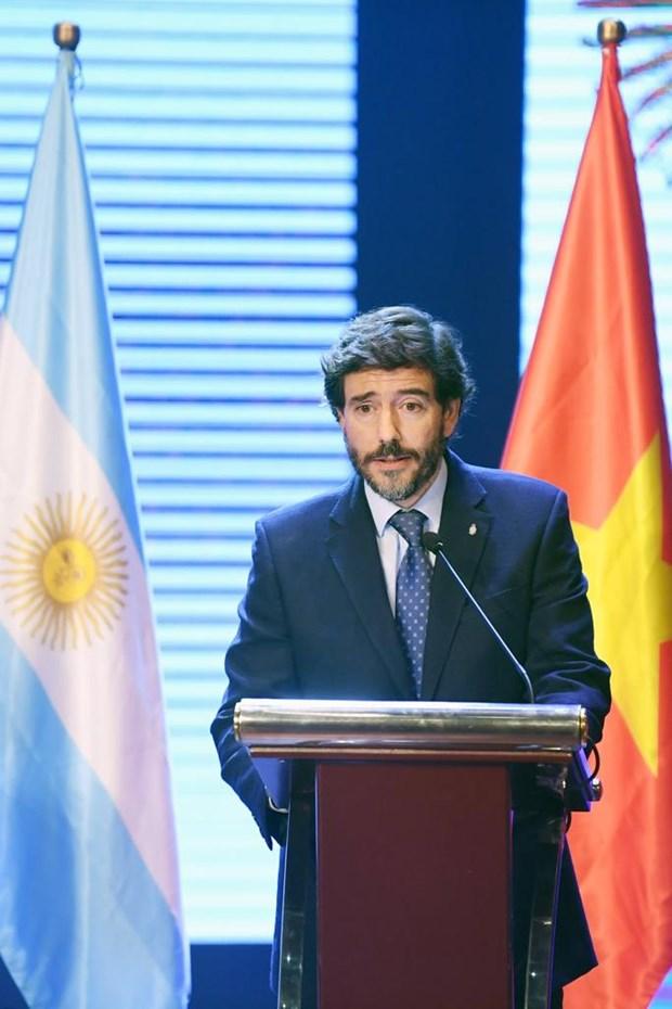 Cita cultural destaca estrechas relaciones entre Vietnam y Argentina hinh anh 3