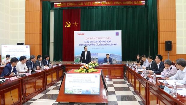 Resaltan logros de PetroVietnam en mantenimiento de instalaciones petroleras hinh anh 2