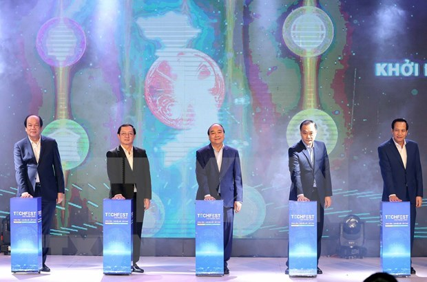 Inauguran Festival de Emprendimiento e Innovacion de Vietnam en 2020 hinh anh 1