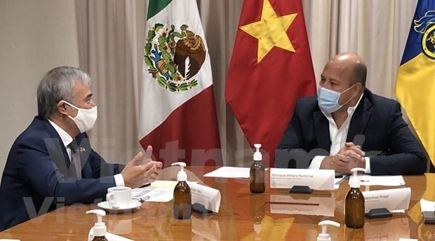 Vietnam busca fortalecer cooperacion comercial con Mexico hinh anh 1