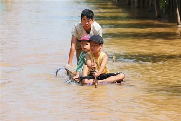 UNICEF ofrece ayuda a ninos de desnutricion en Centro de Vietnam hinh anh 1
