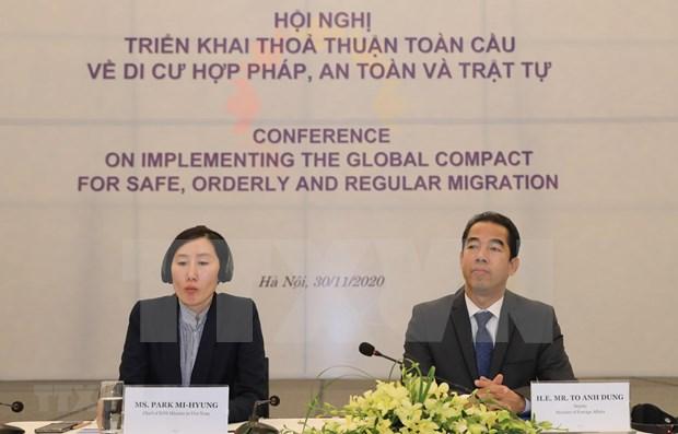 Debaten en Vietnam despliegue de pacto mundial sobre migracion hinh anh 1