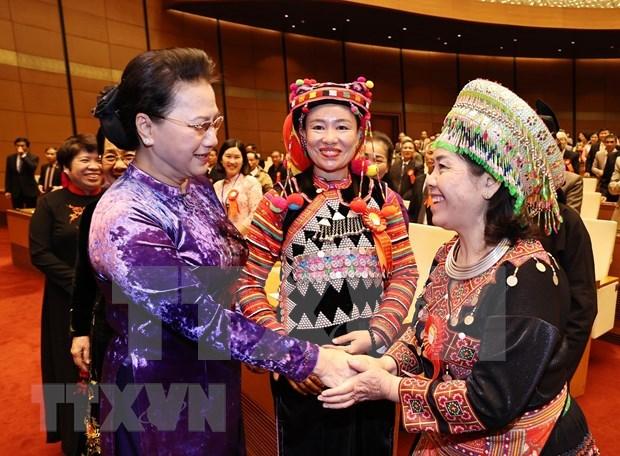Presidenta del Parlamento destaca estimulacion de estudio en Vietnam hinh anh 1