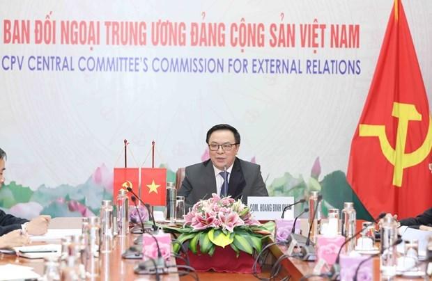 Vietnam y China robustecen cooperacion partidista hinh anh 1