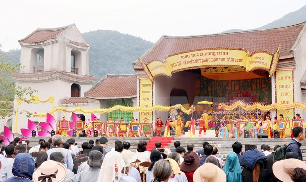 Provincia vietnamita de Quang Ninh recibe a 7,5 millones de turistas en lo que va de ano hinh anh 1