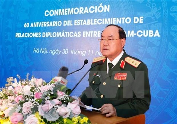 Conmemoran 60 aniversario del establecimiento de relaciones diplomaticas Vietnam-Cuba hinh anh 1