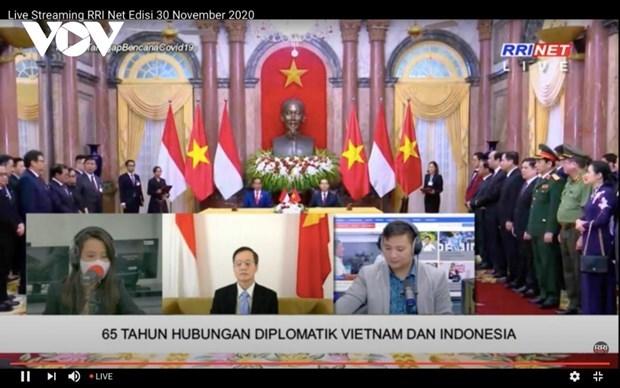 Destacan relaciones entre Vietnam e Indonesia hinh anh 1