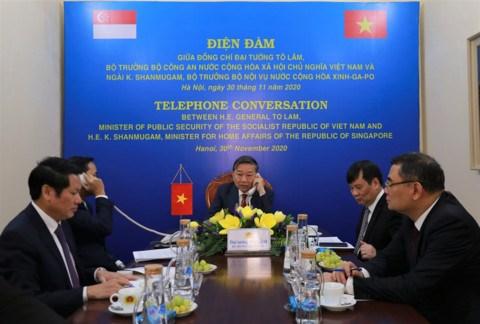 Vietnam y Singapur refuerzan cooperacion en asuntos judiciales hinh anh 1