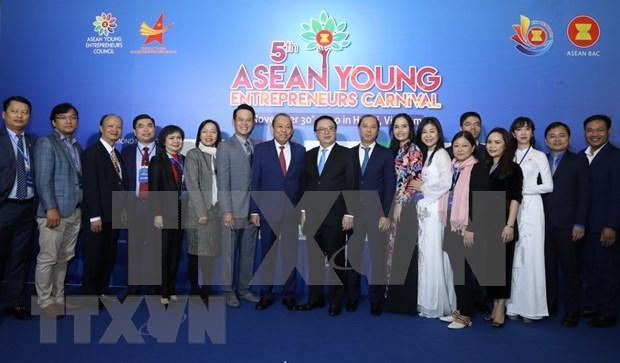 Brunei asume presidencia del Consejo de Jovenes Empresarios de ASEAN hinh anh 1