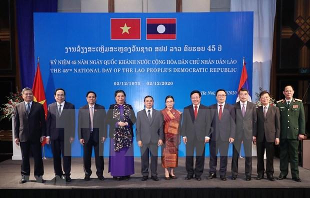 Embajada de Laos en Vietnam celebra el Dia Nacional hinh anh 1