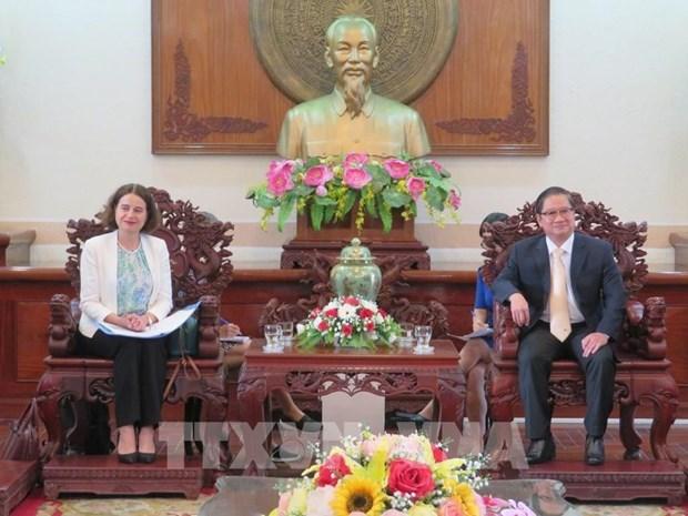 Provincia vietnamita robustece cooperacion con Australia en educacion e infraestructura hinh anh 1