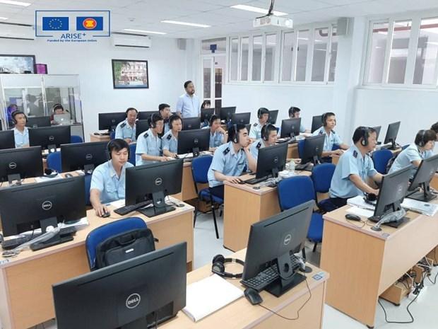 Puesto en funcionamiento sistema de transito aduanero de ASEAN hinh anh 1