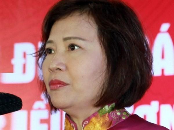 Exviceministra expulsada del Partido Comunista de Vietnam hinh anh 1