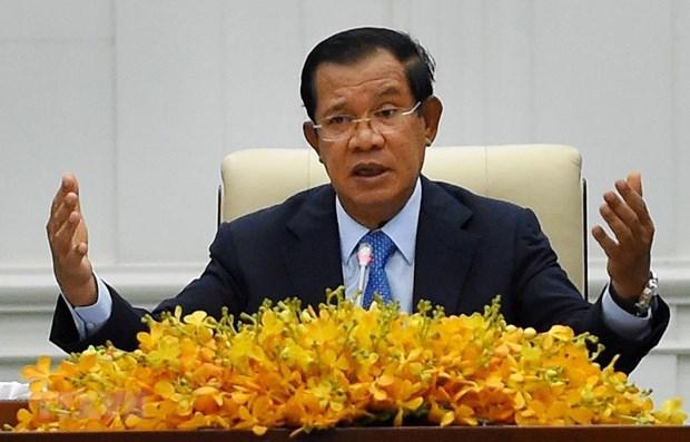 Aprecia premier de Camboya apoyo de Vietnam a lucha independentista en el pasado hinh anh 1