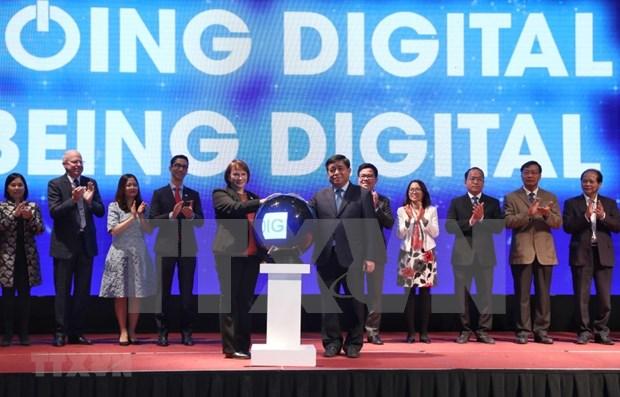 USAID apoyara a Vietnam en transformacion digital empresarial para 2021-2025 hinh anh 1
