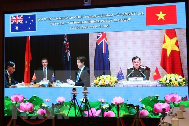 Vietnam y Australia ratifican compromiso de agilizar lazos en defensa hinh anh 1