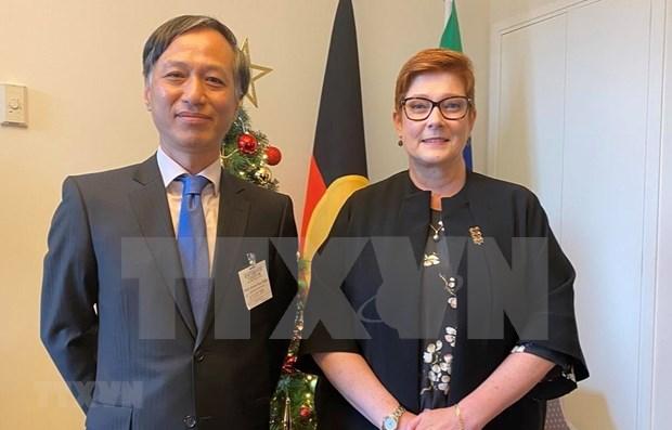 Aspira Australia a ampliar cooperacion con Vietnam hinh anh 1