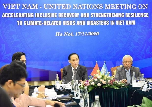 Aceleran elaboracion de marco de cooperacion Vietnam-ONU para 2022-2026 hinh anh 1