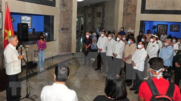 Inauguran muestra fotografica por 60 anos de relaciones Vietnam – Cuba hinh anh 1