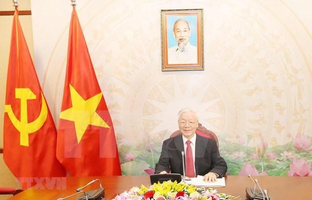 Maximo dirigente de Vietnam: Relaciones con Cuba son un simbolo para todos los tiempos hinh anh 1