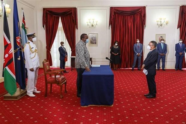 Intensifican relaciones entre Vietnam y Kenia hinh anh 1