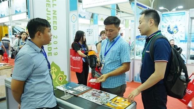 Productos de provincia china buscan penetrar en mercado vietnamita hinh anh 1