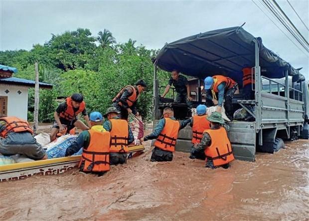 Reportan nueve muertos por inundaciones en Tailandia hinh anh 1