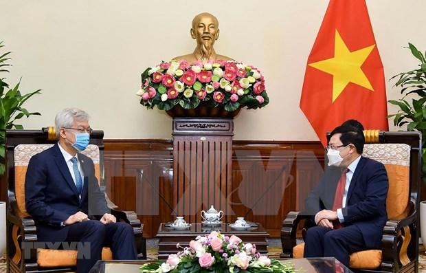 Vietnam concede importancia al desarrollo de nexos con Corea del Sur hinh anh 1