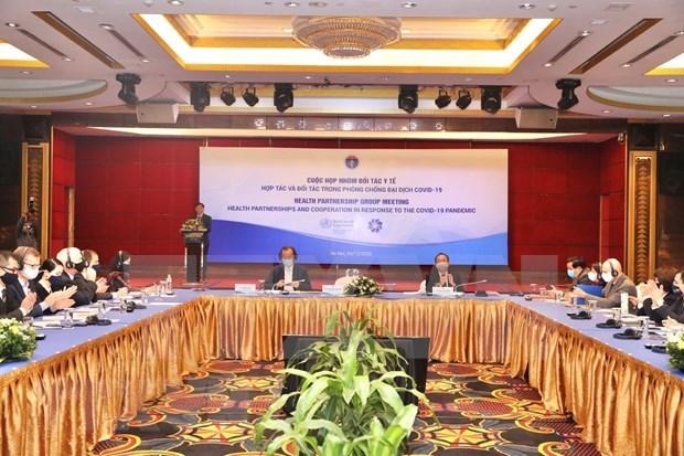 Vietnam refuerza cooperacion en salud para responder al COVID-19 hinh anh 1