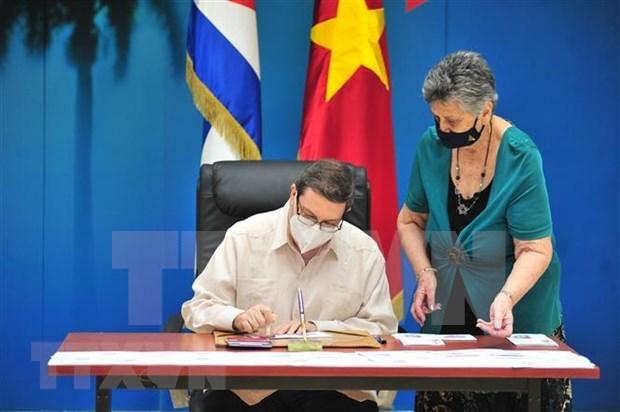 Cancelan Vietnam y Cuba sello postal por 60 anos de nexos ofciales hinh anh 2