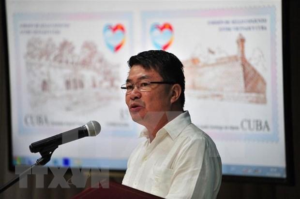 Cancelan Vietnam y Cuba sello postal por 60 anos de nexos ofciales hinh anh 3