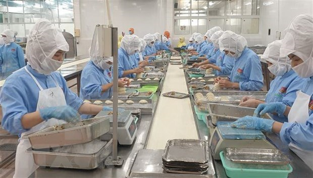 Empresas acuicolas vietnamitas garantizan calidad de envios a China hinh anh 1