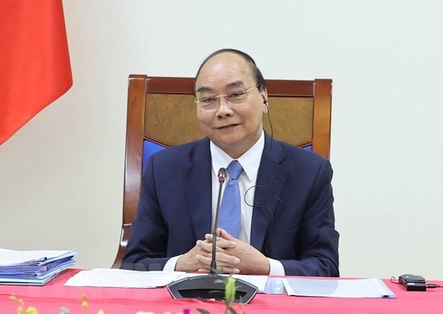 Premier de Vietnam asistira a reuniones regionales virtuales hinh anh 1