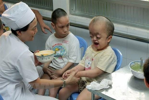 Desarrollan actividades para ayudar a victimas del Agente Naranja/Dioxina en Vietnam hinh anh 1