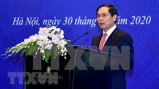 Resaltan en Vietnam aportes de diplomacia economica al desarrollo nacional hinh anh 1