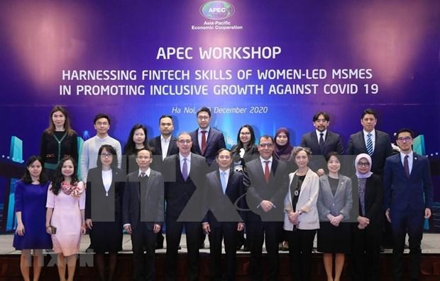 APEC impulsa recuperacion de empresas lideradas por mujeres hinh anh 1