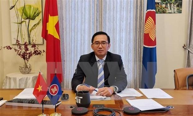 Vietnam asume la presidencia de Junta Directiva de Fundacion de ASEAN hinh anh 1