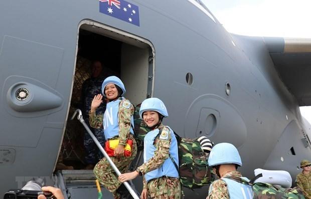 Vietnam promueve papel de la mujer en fomento de la paz hinh anh 1