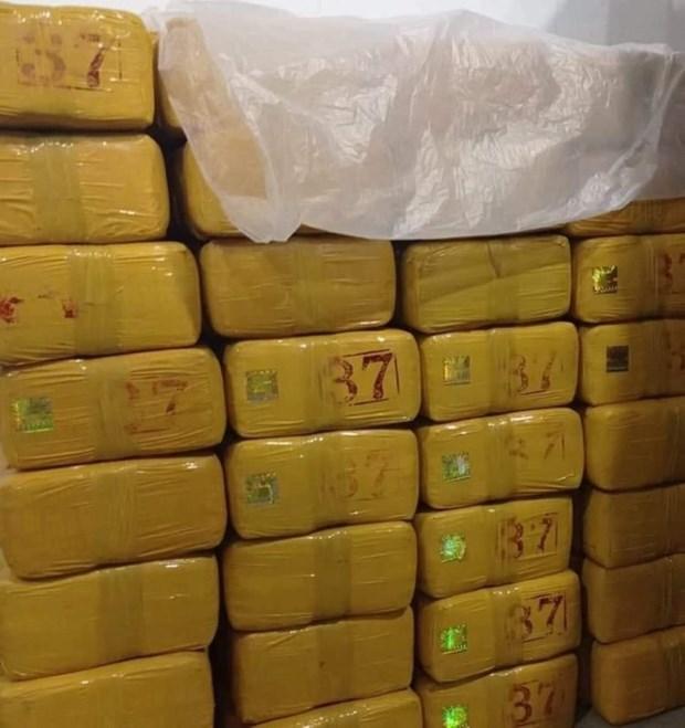 Incautan en Myanmar drogas por valor de mas de 1,5 millones de dolares hinh anh 1