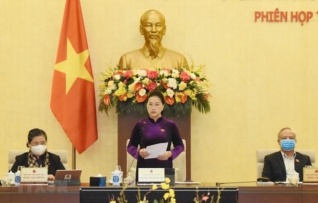 Inauguran 51 sesion del Comite Permanente de la Asamblea Nacional de Vietnam hinh anh 1